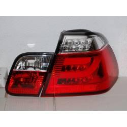 PILOTOS TRASEROS CARDNA BMW E46 4 PUERTAS 2002-2005 RED LIGHTBAR