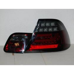 PILOTOS TRASERO BMW E46 2p 2003-2005 LED RED SMOKED INTERMITENTE LED CARDNA