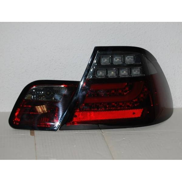 REAR LIGHTS BMW E46 03-05 LED RED SMOKED 2P CARDNA