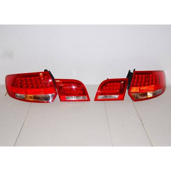 REARLIGHTS '04 -08 SPORTBACK AUDI A3 LED RED / BLACK