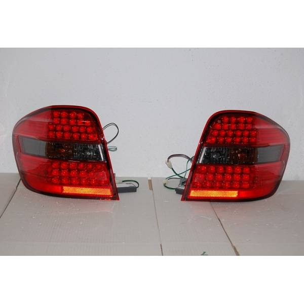 MERCEDES ML W164 REARLIGHTS '06 LED SMOKED
