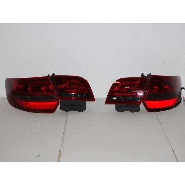 FAROLINS CARDNA '04 -08 SPORTBACK AUDI A3 LED RED / BLAC
