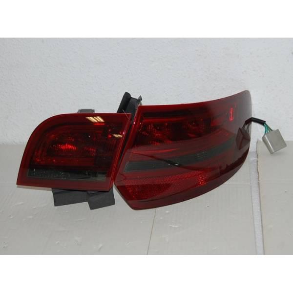 FANALI POSTERIORI CARDNA '04 -08 SPORTBACK AUDI A3 LED RED / BLAC
