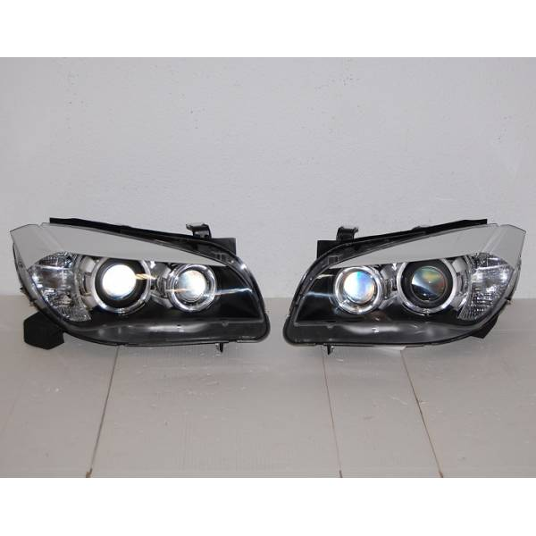 DAYLIGHT HEADLIGHTS DRL BMW X1 09-12 BLACK