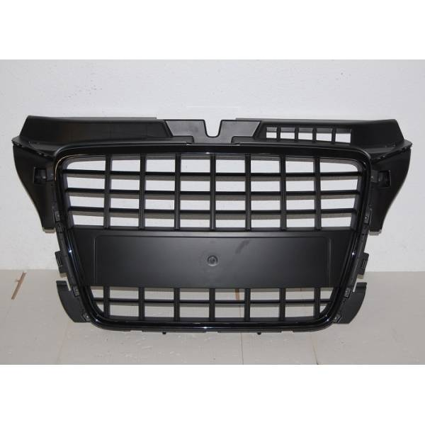 FRONT GRILL AUDI A3 SPORTBACK 3 DOORS AND LOOK S3 2009-2012