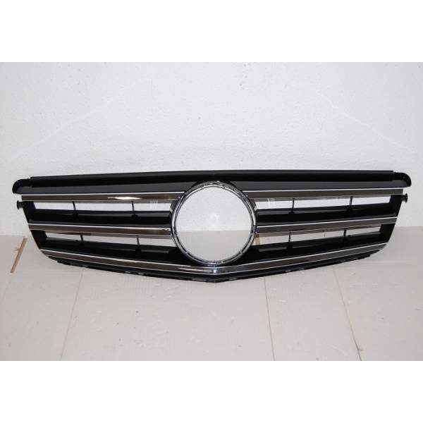 GRILLE MERCEDES W204 07-10 AMG LOOK