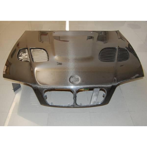 CAPO CARBONO BMW E46 '02-06 4P. M3 GTR C/T