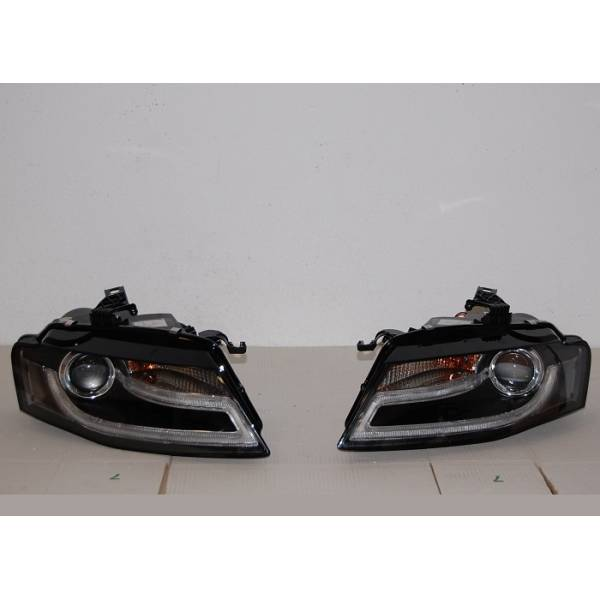 DAYLIGHT HEADLIGHTS AUDI A4 09-12 REAL L / DR ORG BLACK