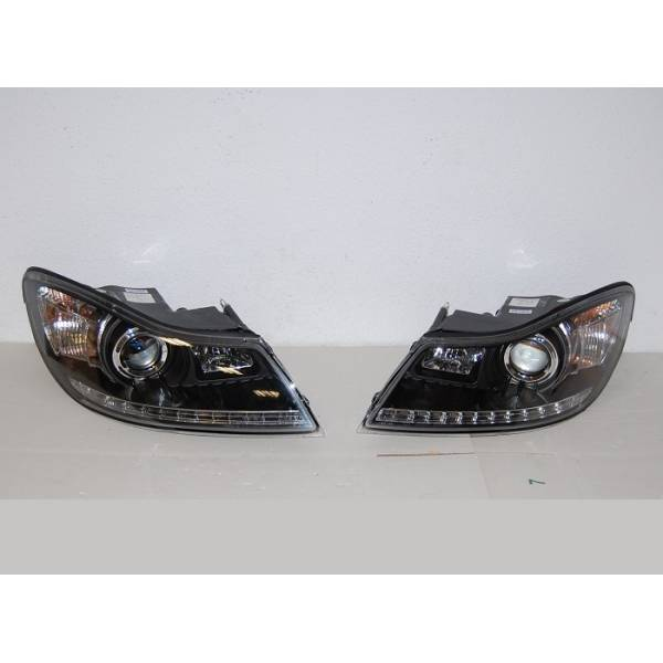 DAYLIGHT HEADLIGHTS SKODA OCTAVIA '09 BLACK