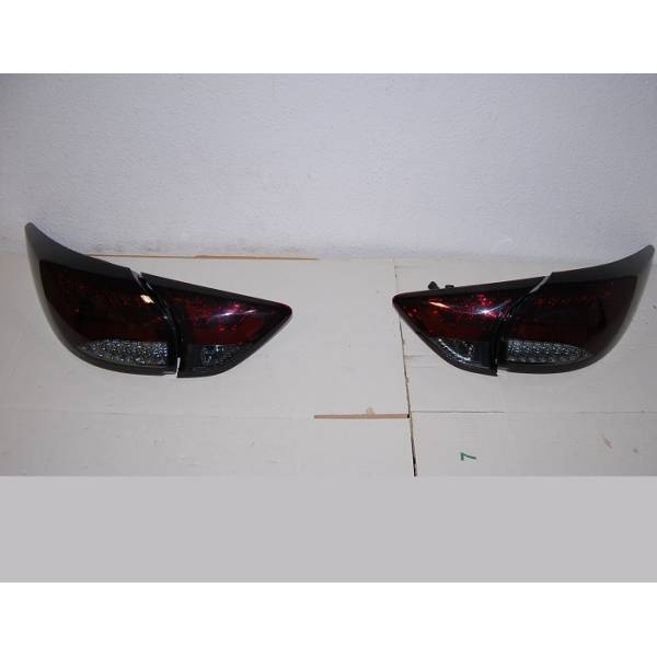 PILOTOS TRASEROS MAZDA CX5 12 LED RED SMOKED INTERMITENTE LED