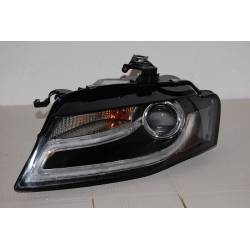 Set of headlamps day light AUDI A5 07-08 black