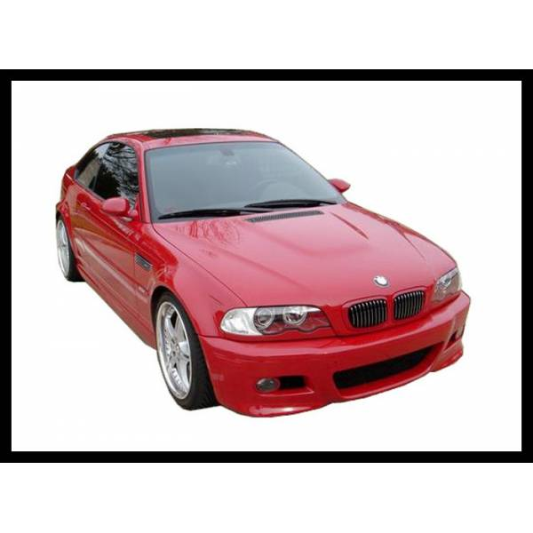 FRONTBUMPER BMW M3 E46 '98 -02 TYPE WITH ANTINIEBLAS