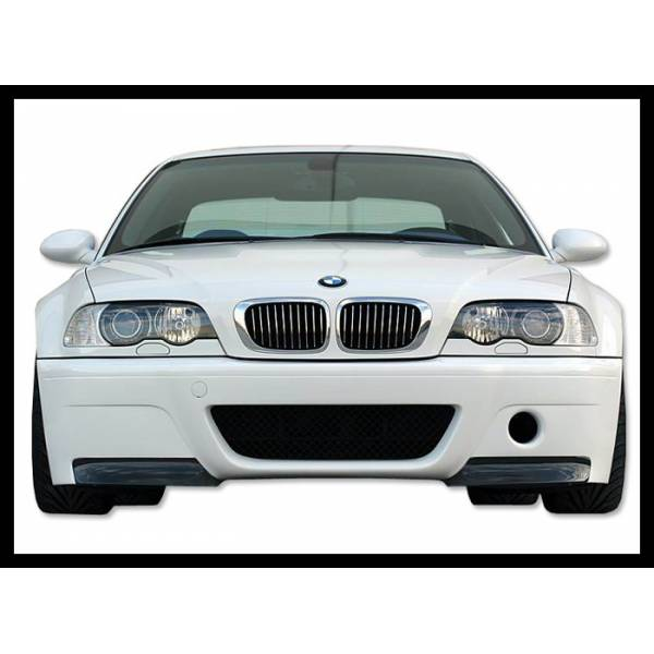 FRONTBUMPER BMW M3 E46 ABS C / TOE CARBON LOOK CSL