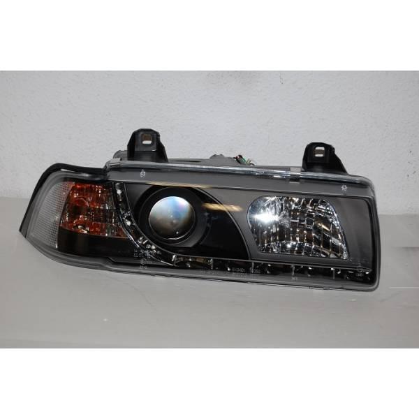 DAYLIGHT HEADLIGHTS BMW E36 4P '92. BLACK