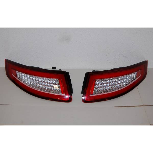FAROLINS LED RED PORSCHE 911 05-08 CARDNA