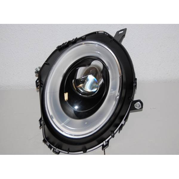 HEADLAMP MINI COOPER 06 R56 L / D BLACK LTI