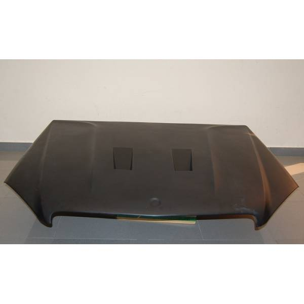 MERCEDES W204 07-10 BONNET BLACK FIBER SERIES
