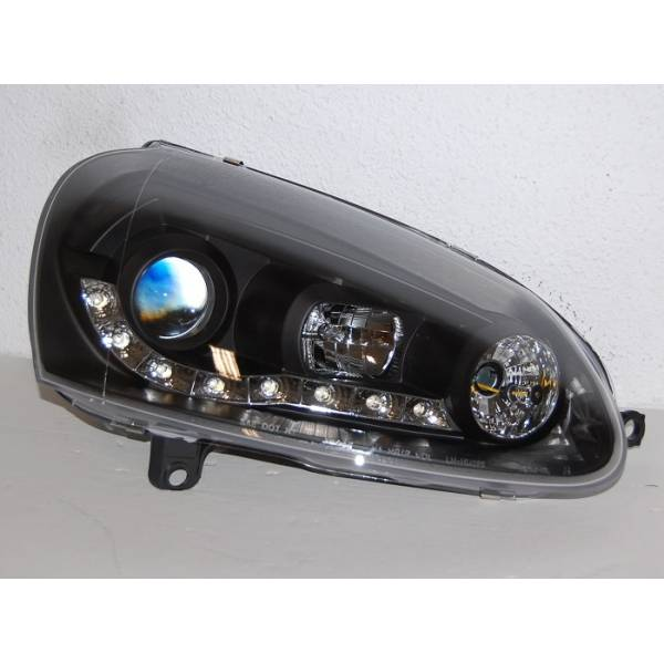 DAYLIGHT HEADLIGHTS VOLKSWAGEN GOLF 5 BLACK