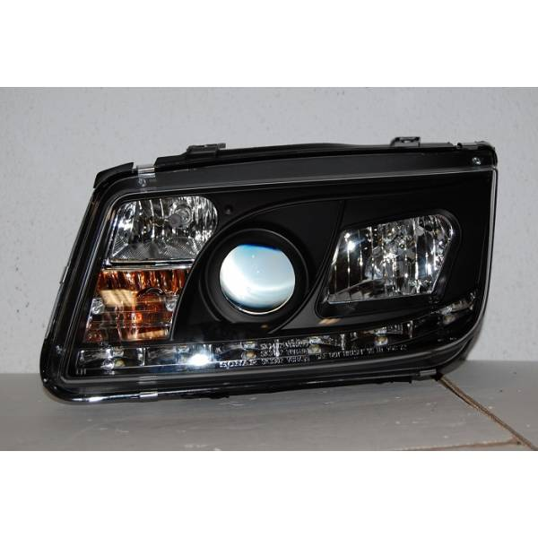 HEADLAMP DAYLIGHT VOLKSWAGEN BORA / JETTA 4 '99 BLACK