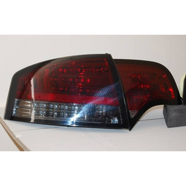 REARLIGHTS 4P AUDI A4 05-08 LED FLASHING RED LED SMOKED