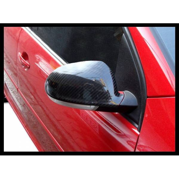CARBON MIRRORS COVER VOLKSWAGEN GOLF 5