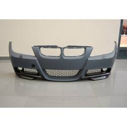 Paragolpes delantero BMW E90 05-08 LOOK  M-TECH LAVAFAROS ABS C/FLAP CARBONIO