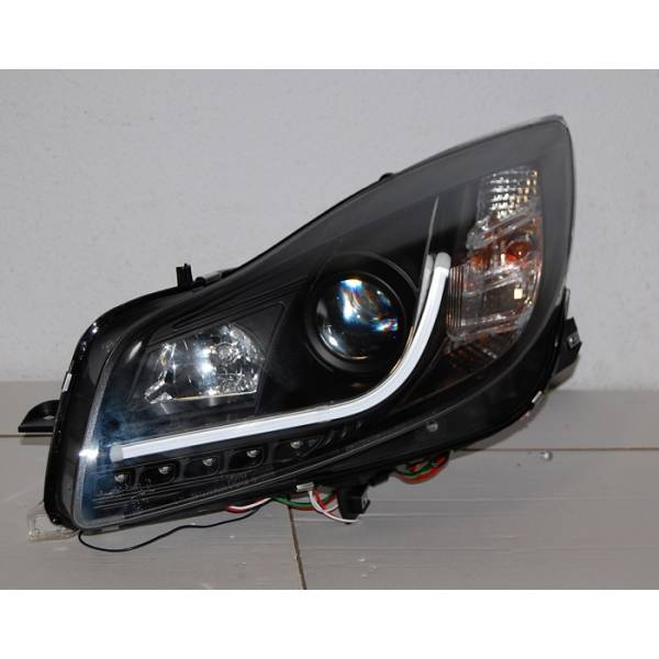 DAYLIGHT HEADLIGHTS OPEL INSIGNIA 08 DRL LTI BLACK