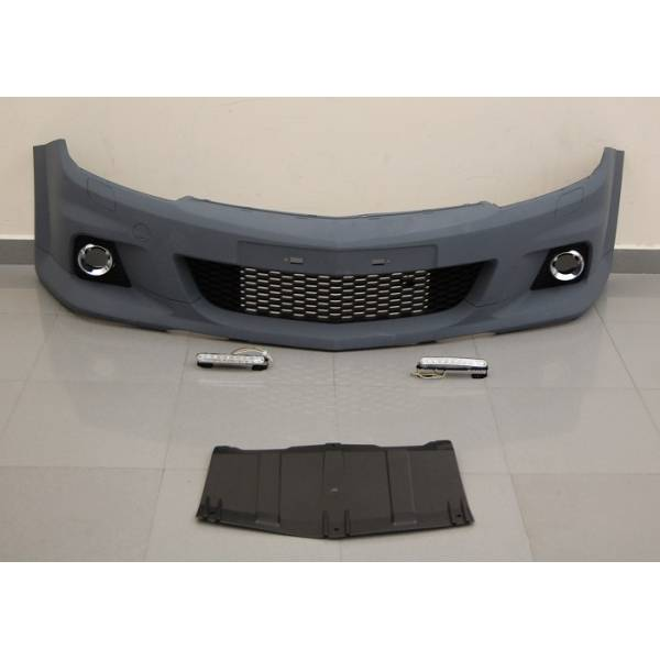 FRONTBUMPER OPEL ASTRA H OPC ABS LOOK DAYLIGHT UNIVERSAL
