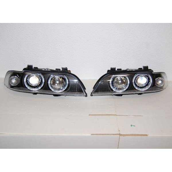 BMW E39 95-03 HEADLIGHTS BLACK