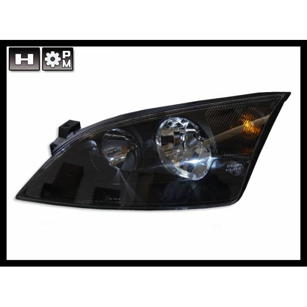 HEADLIGHTS FORD MONDEO BLACK ELEC '01.