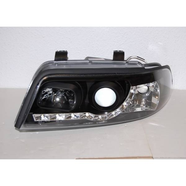 DAYLIGHT HEADLIGHTS AUDI A4 BLACK '99 -01