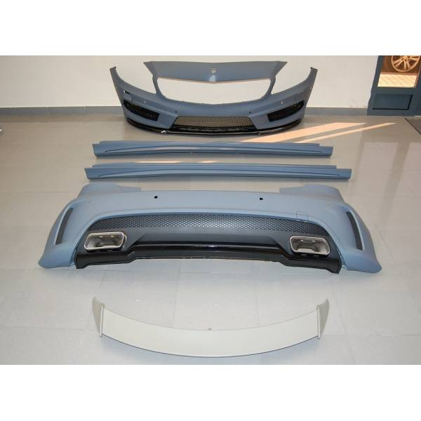 BODY KIT A45 MERCEDES W176 13 AMG LOOK SENSOR WITH WING AND TAILS