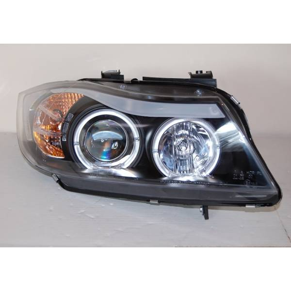 HEADLIGHTS BMW E90 / E91 05-08 BLACK