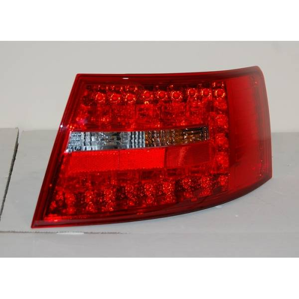 REARLIGHTS AUDI A6 '04 -07 RED SMOKED