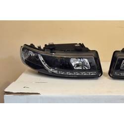 Set Of Headlamps Day Light Seat Leon-Toledo 1999-2004 Black