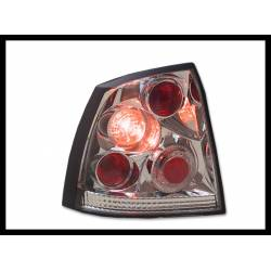 Set of rear tail lights Opel Astra G 3/5-door Lexus chromed