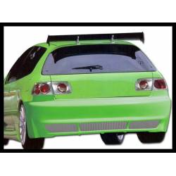Rear Bumper Honda Civic 1992-1995, 3-Door