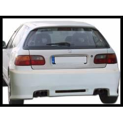 Paragolpes Trasero  Honda Civic 92-95 3P. Bw