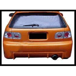Rear Bumper Honda Civic 1992-1995, 3-Door, Combat Type