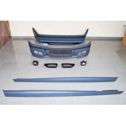 KIT DE CARROCERIA BMW E46 4P 98-04 LOOK M-TECH ABS