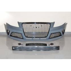 Front Bumper Audi A4 Sedan/Avant From 2009 Onwards, B8 Look RS4