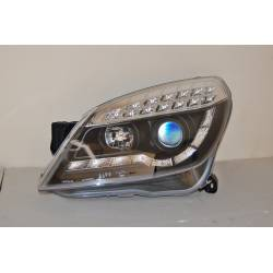 Faros Delanteros Luz De Dia Opel Astra H 3P. Int Led Black