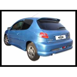 Rear Bumper Peugeot 206, GT Type