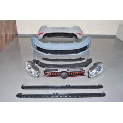 Body Kit Volkswagen Golf 6 2009-2012 look GTI  Headlamps