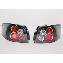 Set Of Rear Tail Lights Audi A3 2003-2008 Black