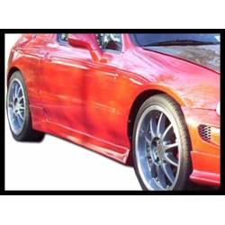 Side Skirts Honda Del Sol 1993 3-Door Blitz Type