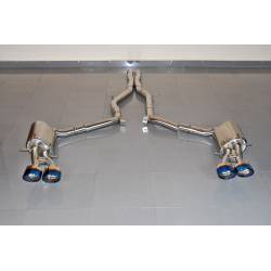 Exhaust Mercedes W212 E63