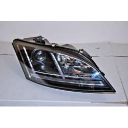 Fanali Day Light Audi TT 06-11 Black