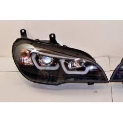 Fari A Led BMW X5 E70 07-13 Xenon Black
