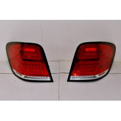 Pilotos Traseros Mercedes W164 '05-08 LED RED